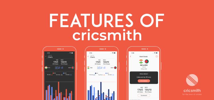 Features of Cricsmith